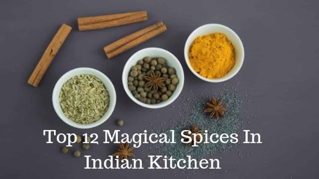 Top 12 Magical Spices