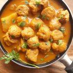 Soya Bean Potato Curry