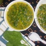 Spinach Lentils Soup