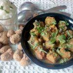 Soya & Potato Curry