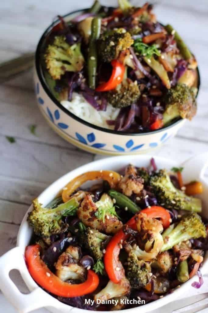 stir-fried vegetable