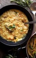 Indian comfort food dal khichdi