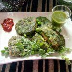 Paneer Stuffed Hara Bhara Kabab