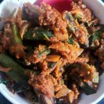 Bhindi DoPyaza/ Okra/ Ladies Finger & Onion Fry
