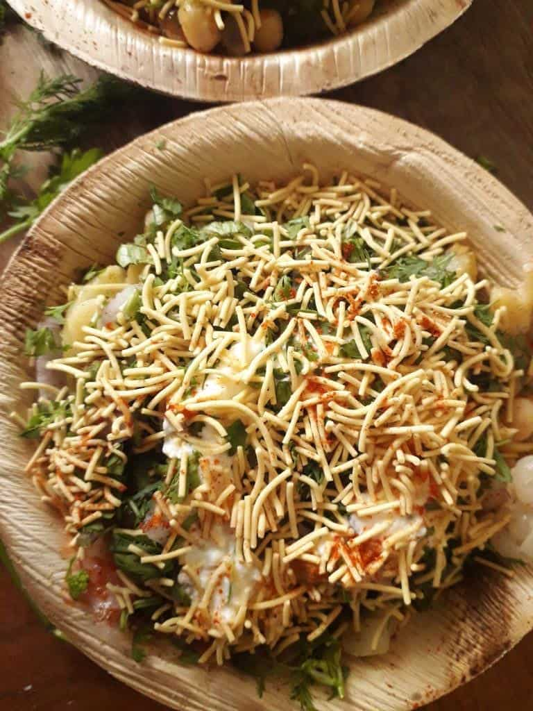Easy Aloo Chaat