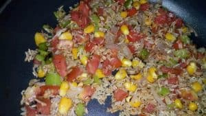 Veg mexican rice
