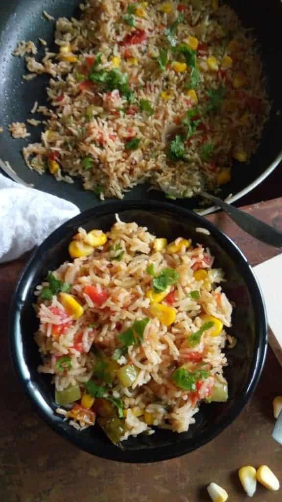 Veg mexican rice