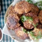 Coconut Fritters/ Coconut Kababs/ Coconut Pancakes