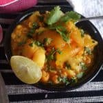 Chana Dal Curry/ Curried Bengal Gram Lentils Soup