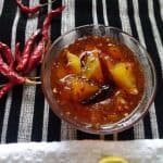 Sweet and Spicy Instant Mango Pickle