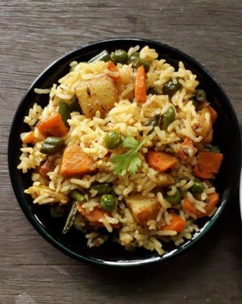 Mix Veg Fried Rice