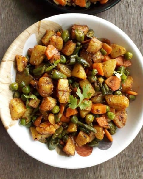Mix Vegetable Fry