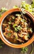 Mushroom Vindaloo
