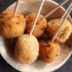 Crispy Potato Lollipop