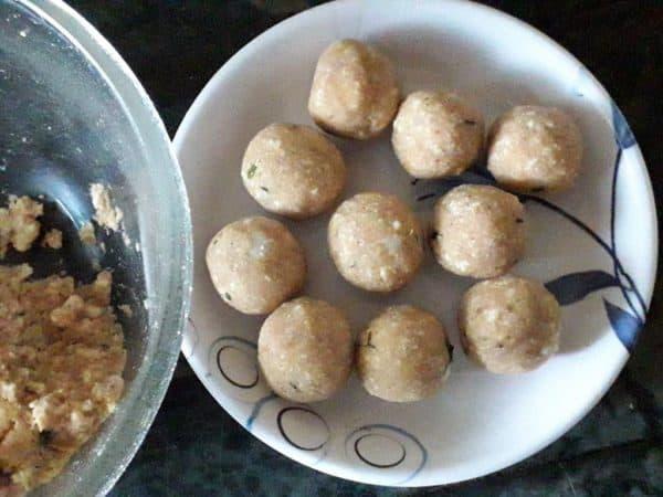 Malai Kofta Making