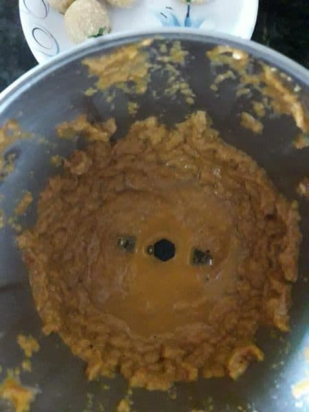 Malai Kofta Gravy Making