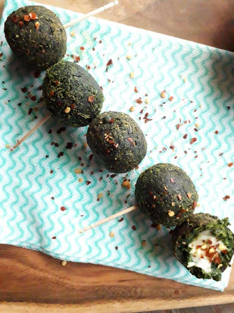 Spinach Cheese Balls