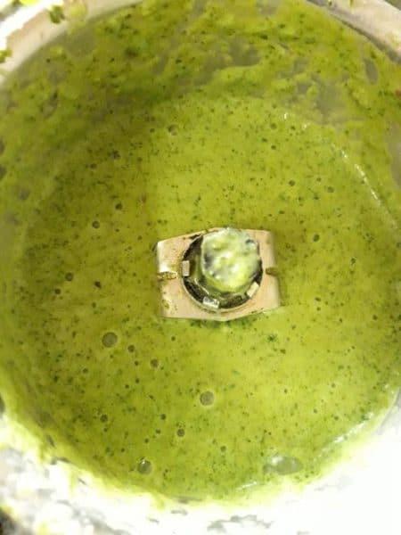 curd & cilantro dip