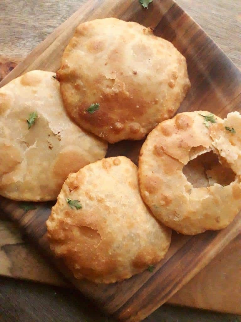 North Indian Style Aloo Kachori