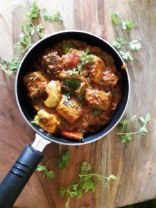 Restaurant style Paneer tikka masala