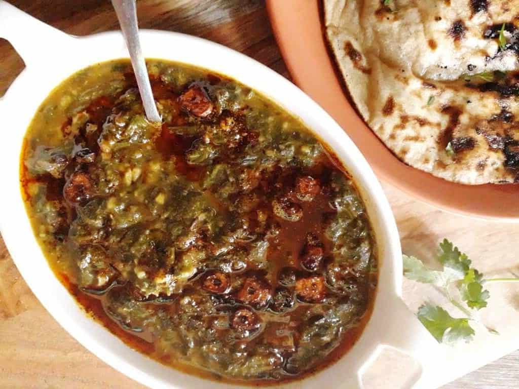 how to make authentic Sarson ka saag