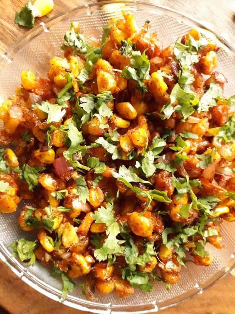 BBQ Nation Style Crispy Corn Chaat