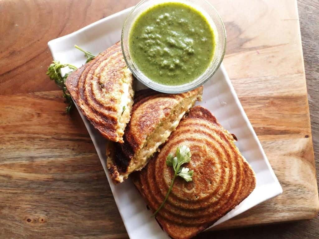 Cheesy sandwich recipe