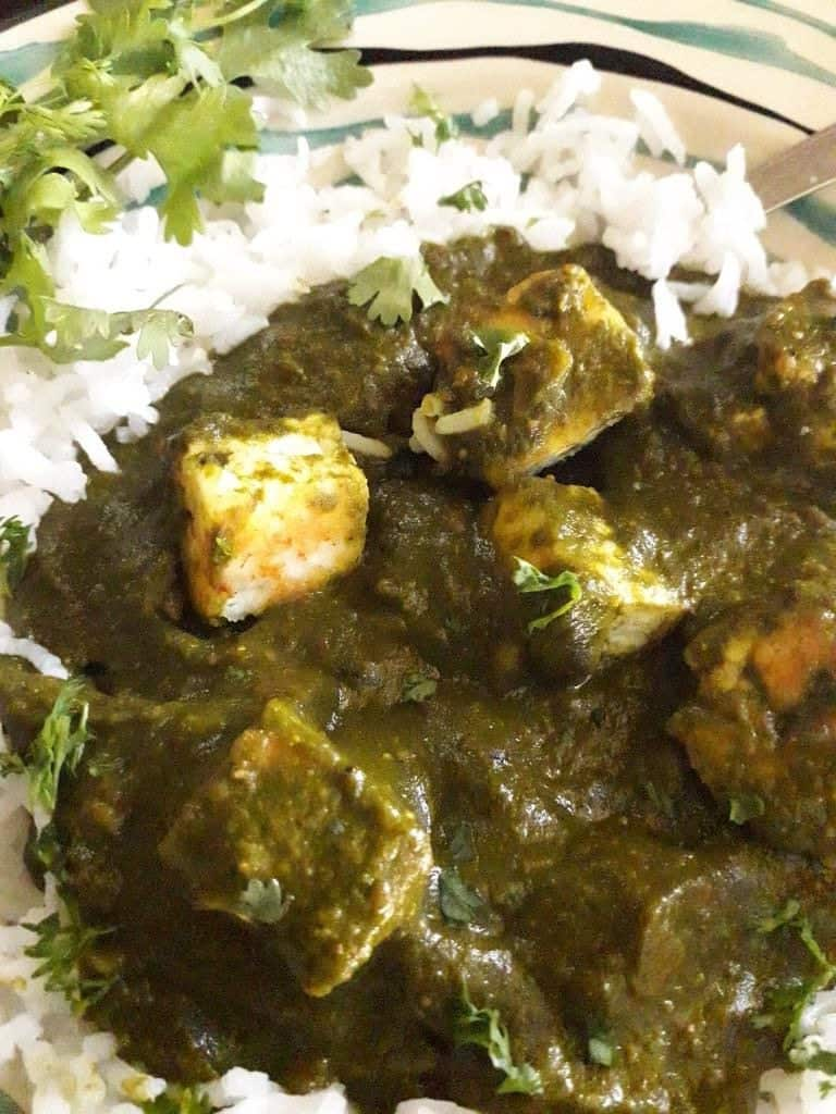 Palak paneer recipe restaurant style