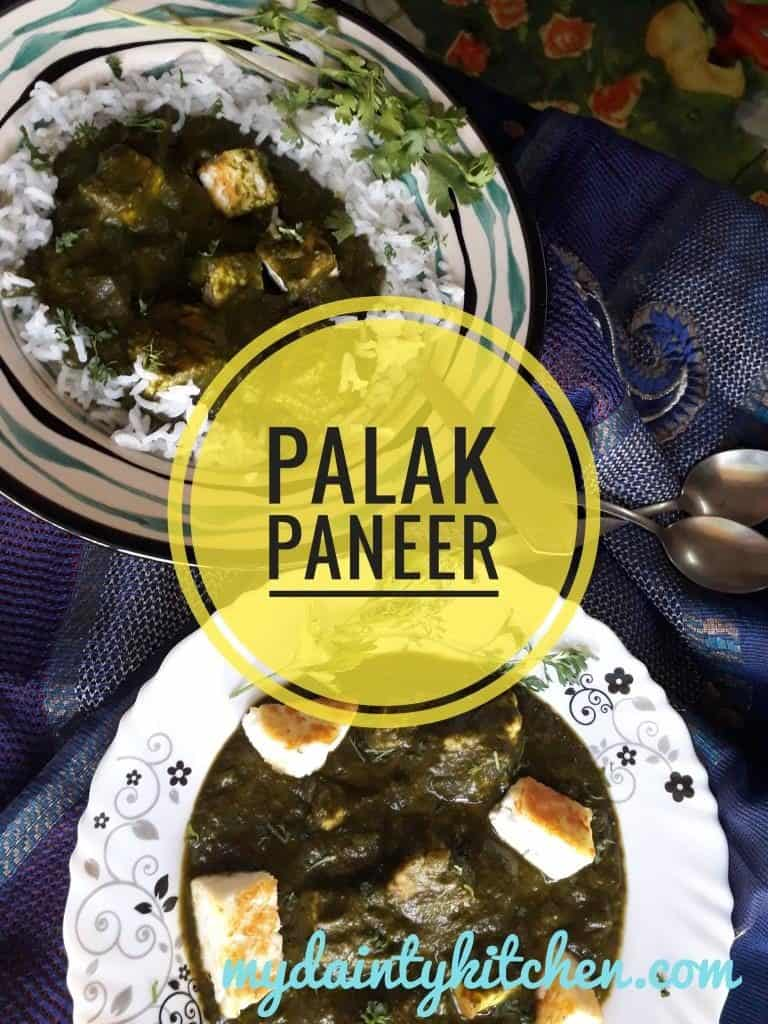 Authentic Palak Paneer
