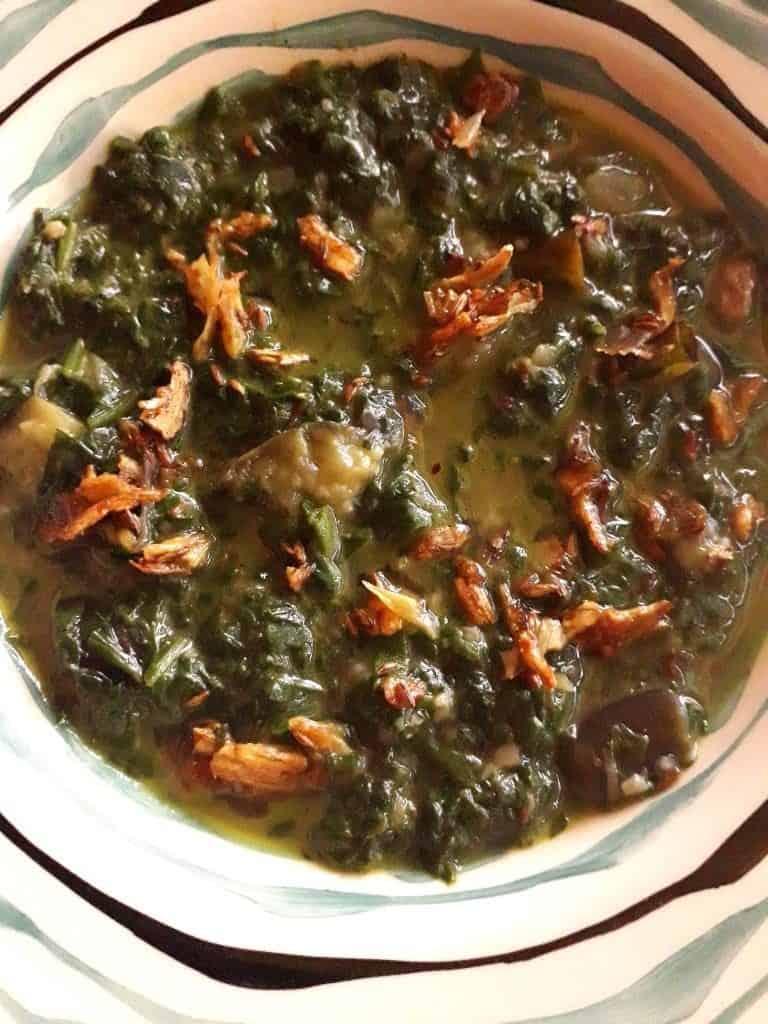 Keto Spinach recipe