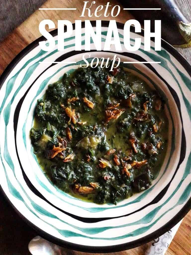 Keto Spinach Soup