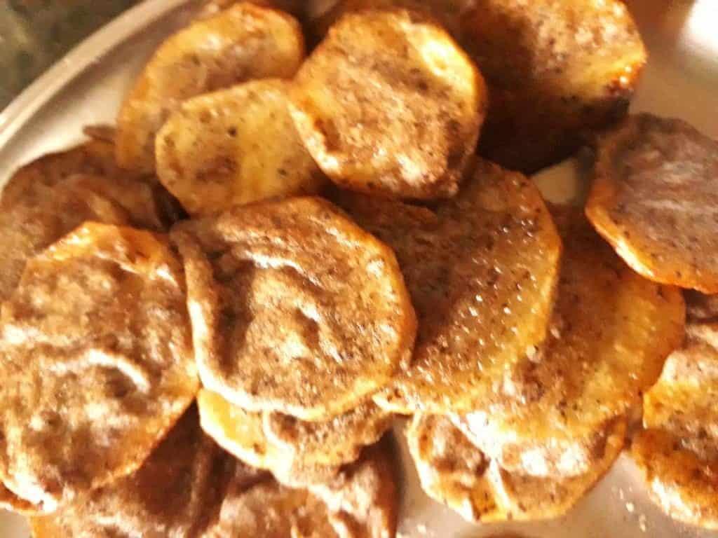 Potato chips in Buckwheat flour