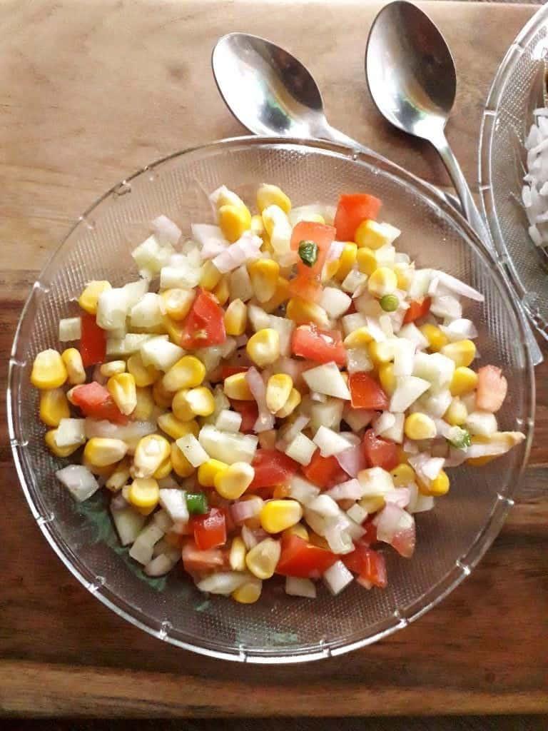 corn cucumber salad