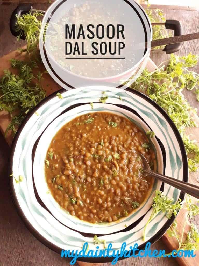 Indian Lentils soup