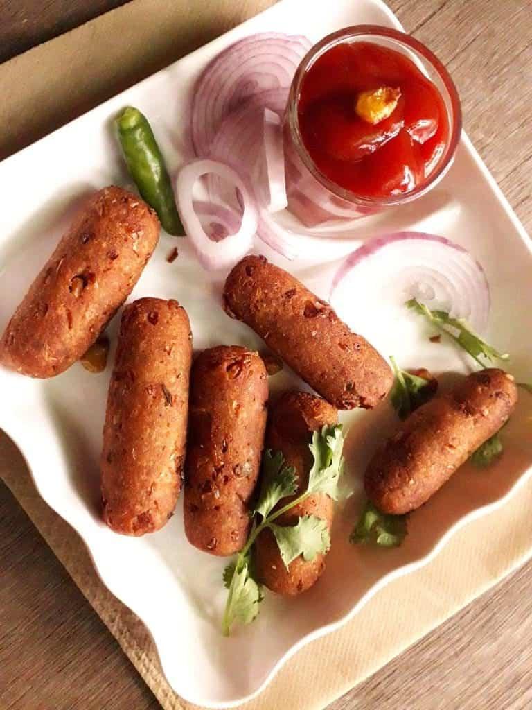 crispy corn kabab