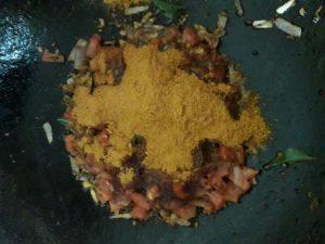 sambar making