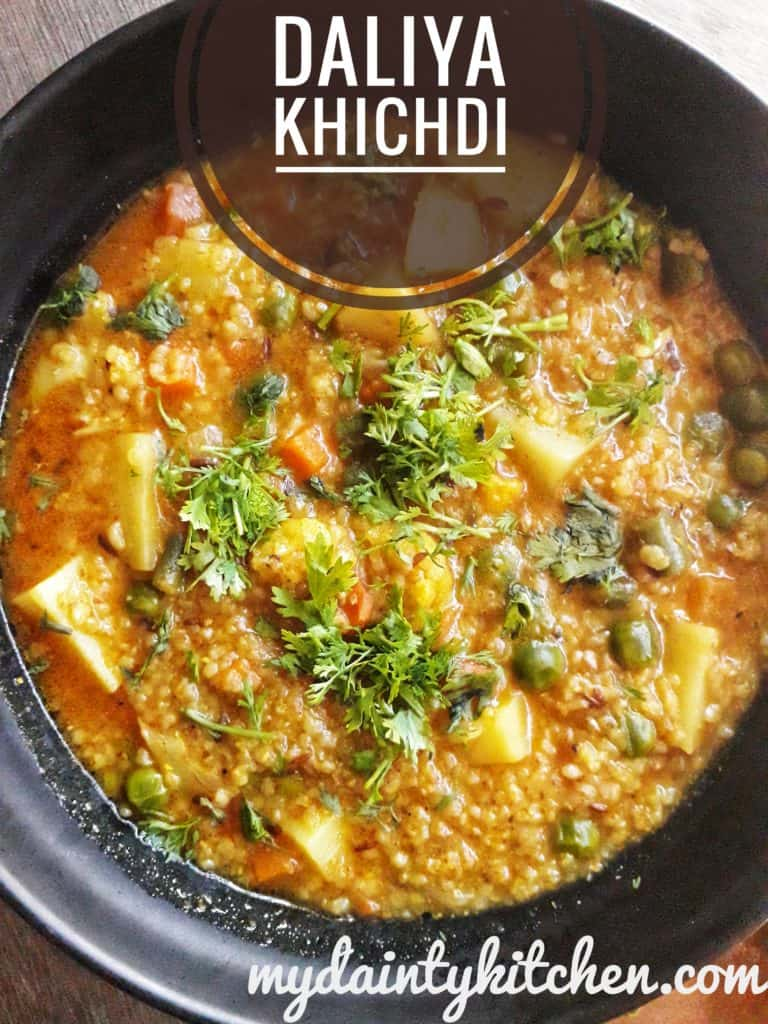 weightloss daliya khichdi