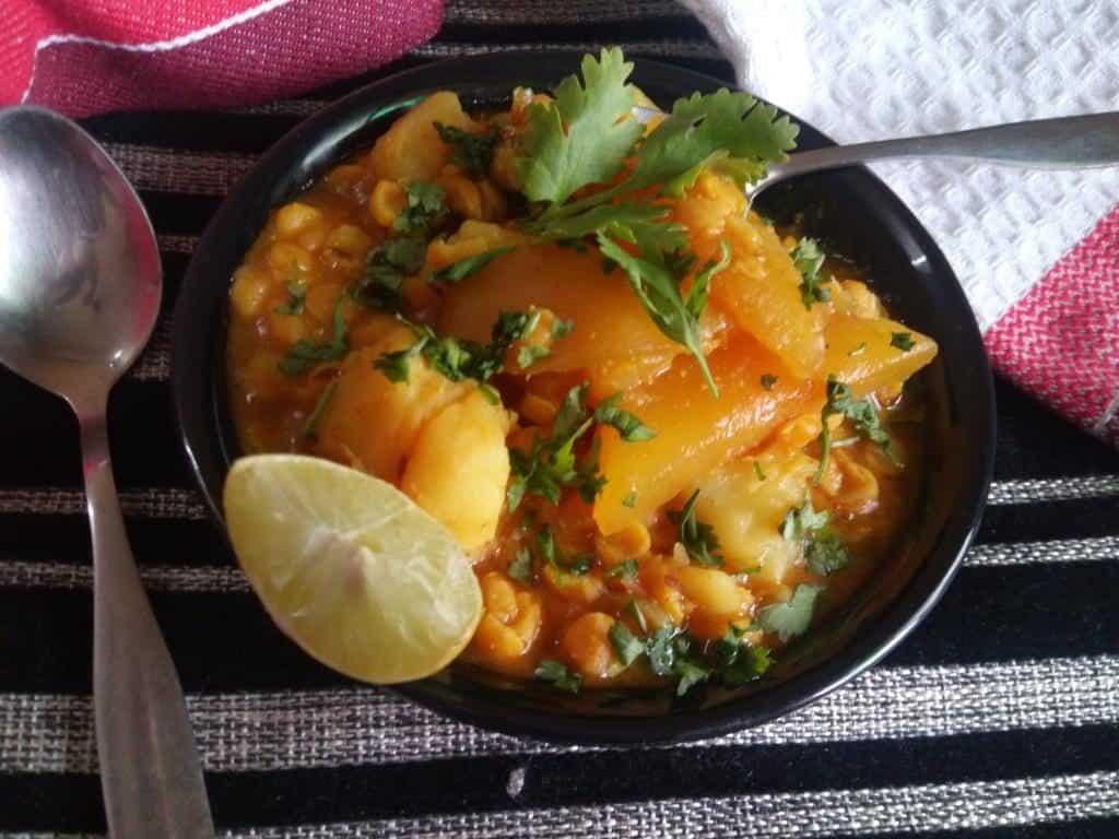 chana dal curry