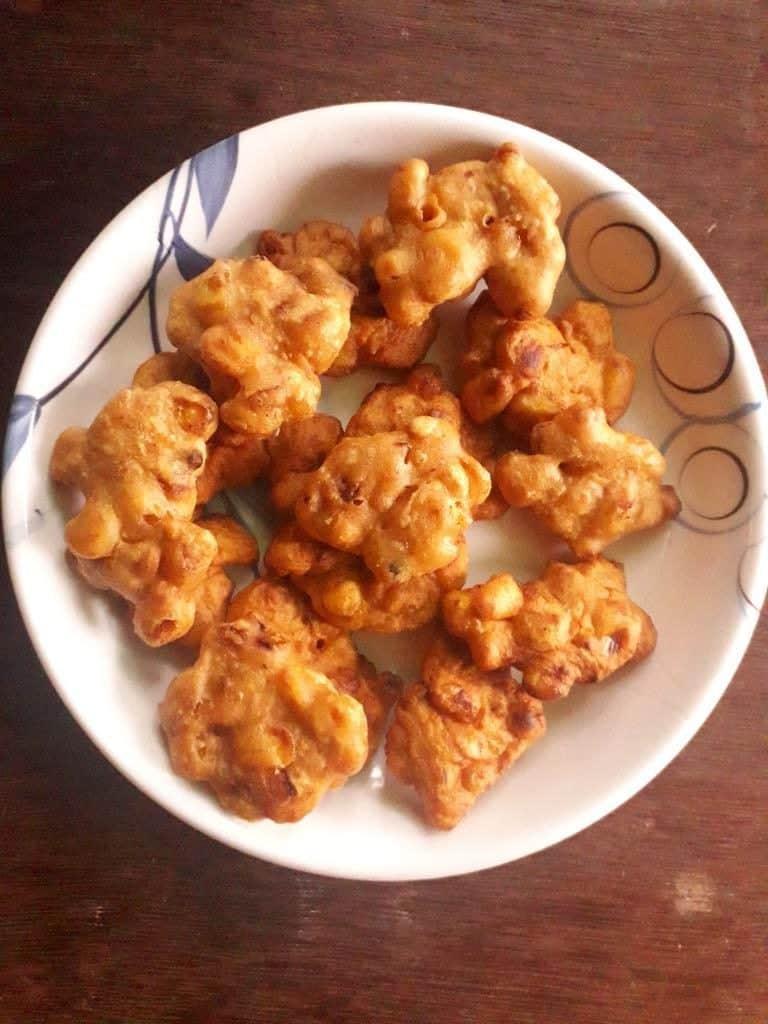 Corn Pakoda party appetizers