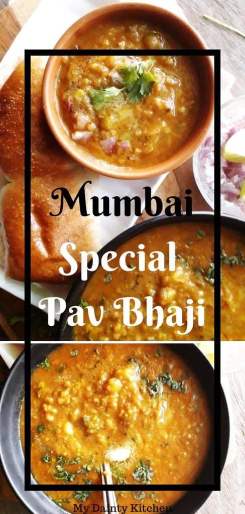 Pav bhaji street food