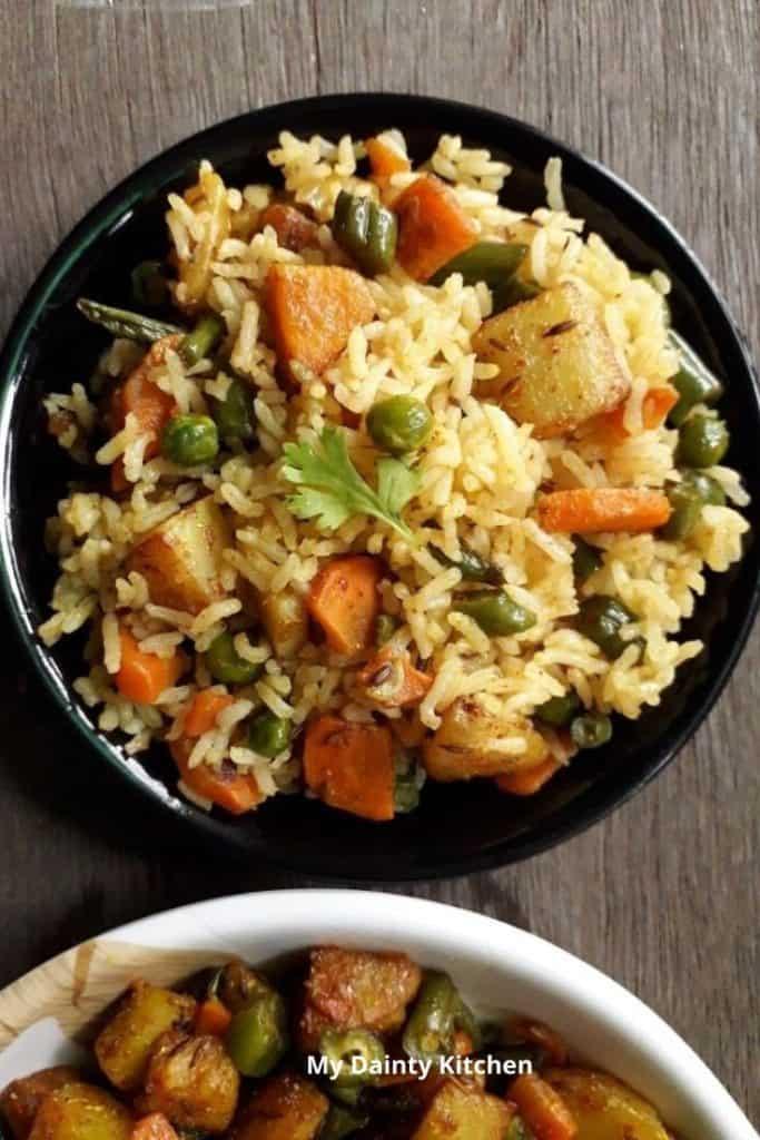Indian rice recipes
