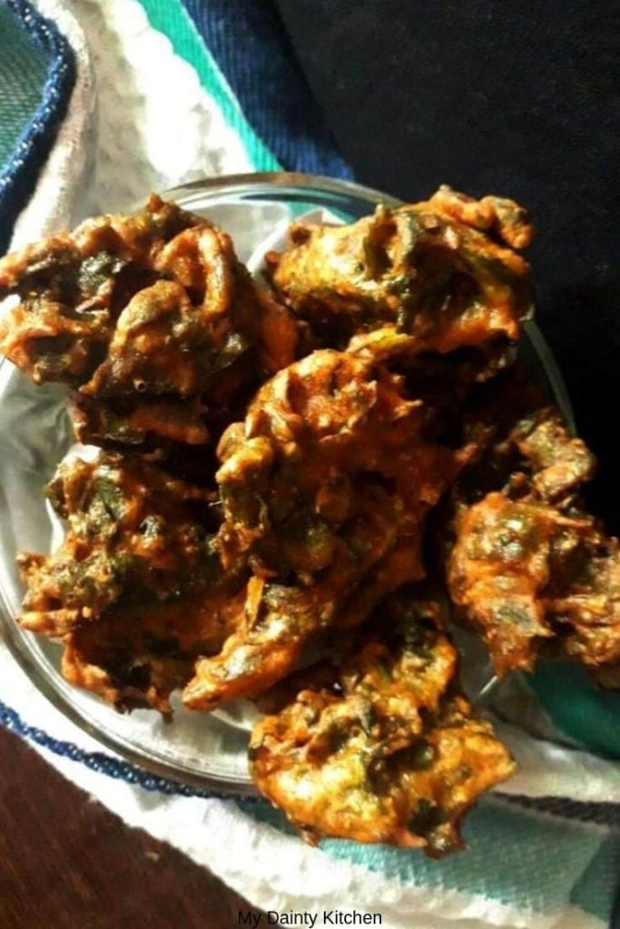 spinach fritters - vegan spinach recipes