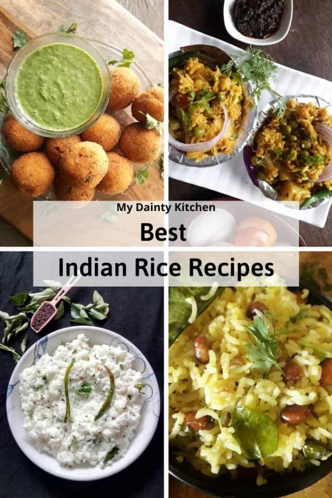 Indian rice recipes
