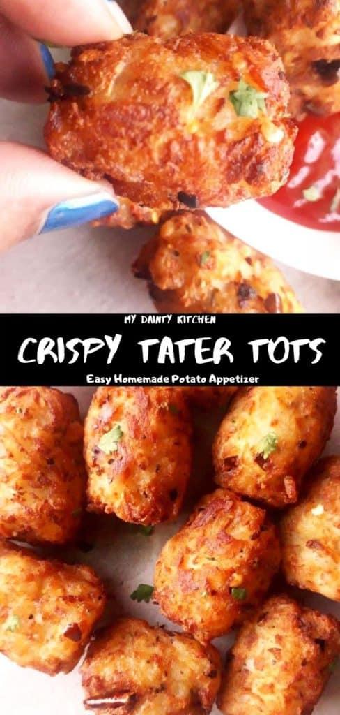 Crispy classic homemade tater tots