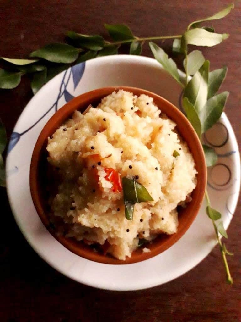 rava upma for kids tiffin box
