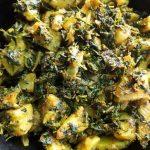 methi aloo - vegan potato recipes