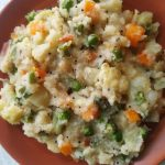 vegetable upma for kids tiffin box