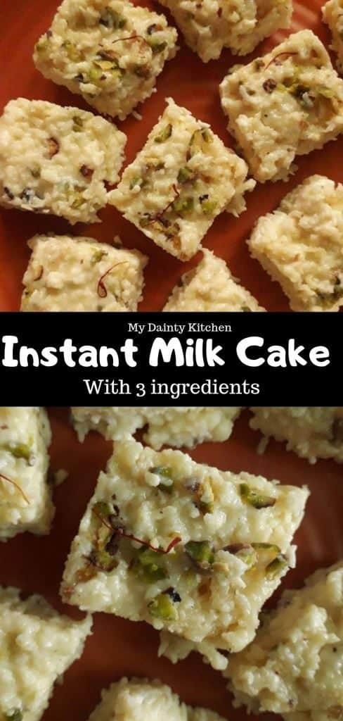 Instant Milk Cake