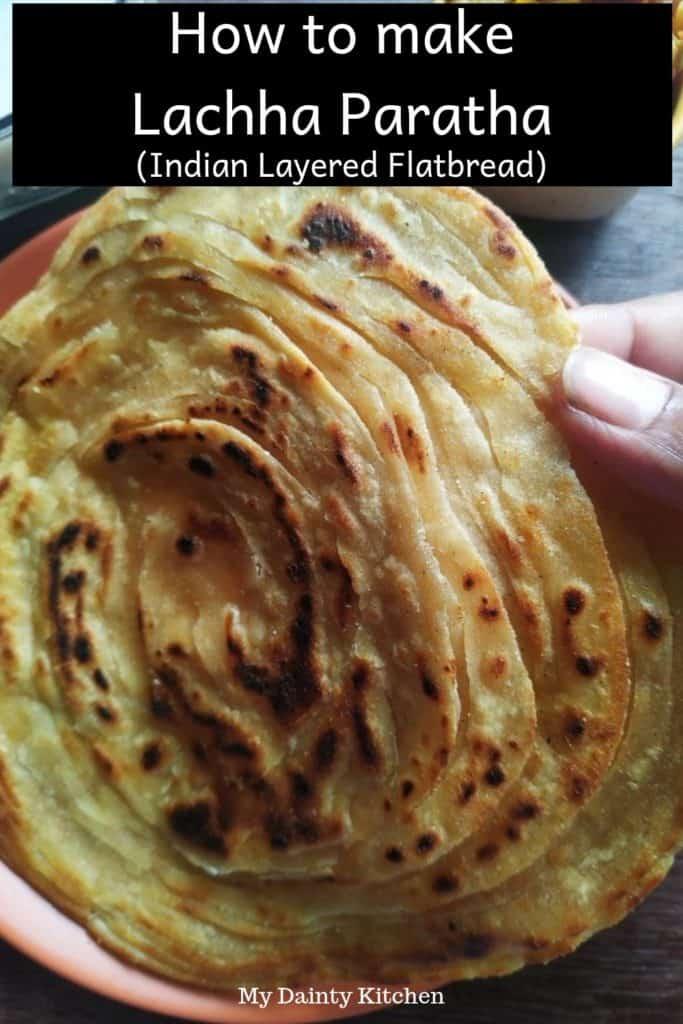 punjabi lachha paratha