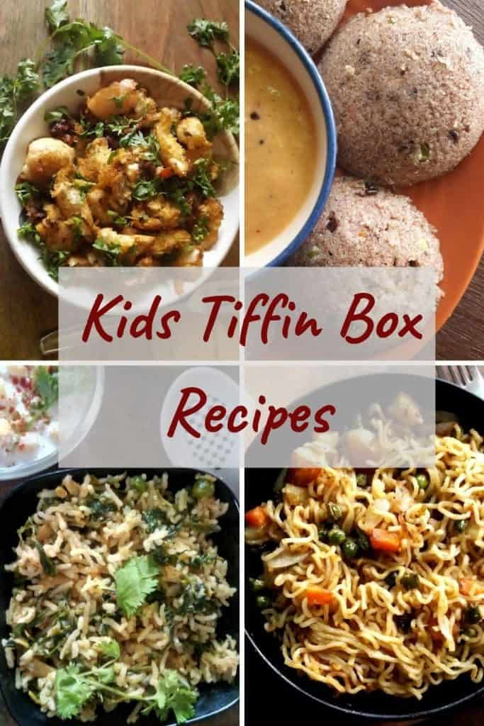 kids tiffin box recipes